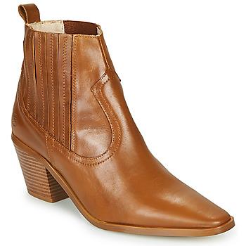 Pantofi Femei Botine Betty London MIRTA Coniac