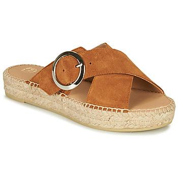 Pantofi Femei Papuci de vară Betty London MARIZETTE Coniac