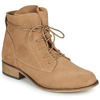 Pantofi Femei Ghete Betty London MARILU Bej