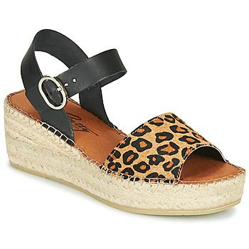 Pantofi Femei Sandale și Sandale cu talpă  joasă Betty London MARILUS Leopard