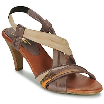 Pantofi Femei Sandale  Betty London POULOI Camel
