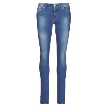 Îmbracaminte Femei Jeans skinny Replay LUZ Albastru / Culoare închisă