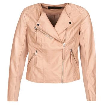 Îmbracaminte Femei Jachete din piele și material sintetic Vero Moda VMRIA FAV Roz