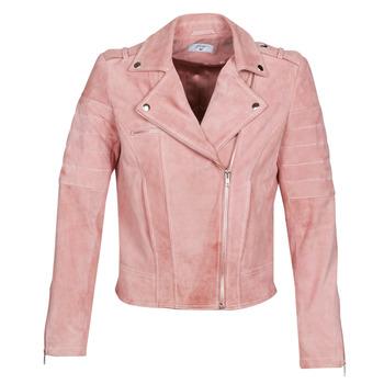 Îmbracaminte Femei Jachete din piele și material sintetic Betty London MARILINE Roz