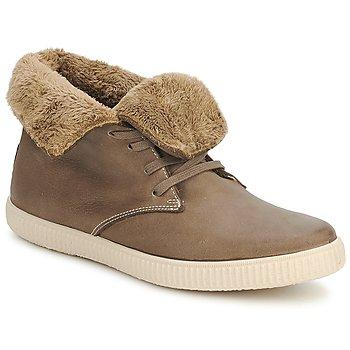 Pantofi Pantofi sport stil gheata Victoria SAFARI ALTA PIEL TINTADA PELO Taupe