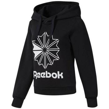 Îmbracaminte Femei Hanorace  Reebok Sport CL FL Big Logo Hood Negre