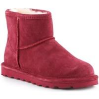 Pantofi Femei Cizme de zapadă Bearpaw Alyssa Vișiniu