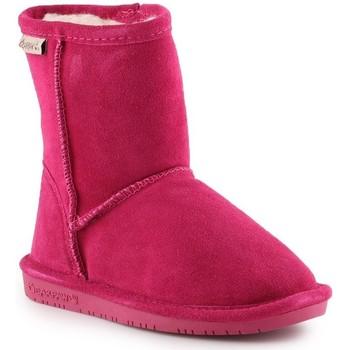 Pantofi Fete Cizme de zapadă Bearpaw Emma Toddler Zipper 608TZ-671 Pom Berry pink