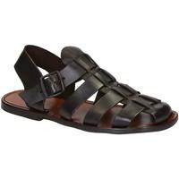 Pantofi Bărbați Sandale  Gianluca - L'artigiano Del Cuoio 502 U MORO CUOIO Testa di Moro