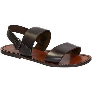 Pantofi Bărbați Sandale  Gianluca - L'artigiano Del Cuoio 500 U MORO CUOIO Testa di Moro