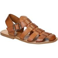Pantofi Bărbați Sandale  Gianluca - L'artigiano Del Cuoio 502 U CUOIO CUOIO Cuoio
