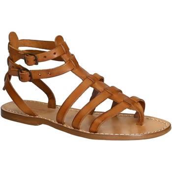 Pantofi Femei Sandale  Gianluca - L'artigiano Del Cuoio 506 D CUOIO CUOIO Cuoio