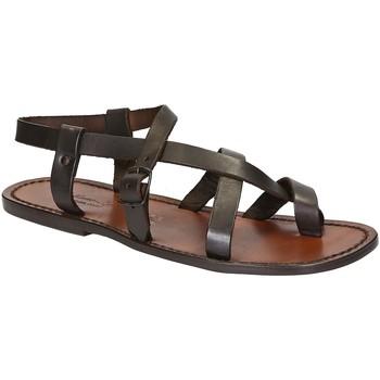 Pantofi Bărbați Sandale  Gianluca - L'artigiano Del Cuoio 530 U MORO CUOIO Testa di Moro