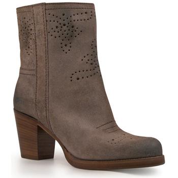 Pantofi Femei Botine Car Shoe KDT63H 0B2 F0308 Antracite