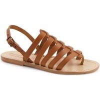 Pantofi Femei Sandale  Gianluca - L'artigiano Del Cuoio 576 D CUOIO LGT-CUOIO Cuoio