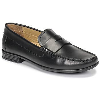 Pantofi Bărbați Mocasini André OFFICE Negru