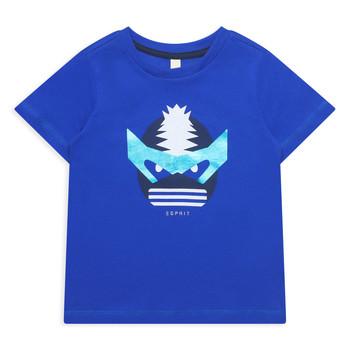 Îmbracaminte Fete Tricouri mânecă scurtă Esprit ENORA Albastru