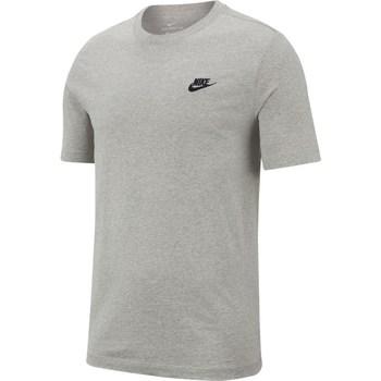 Îmbracaminte Bărbați Tricouri mânecă scurtă Nike Nsw Club Tee Gri
