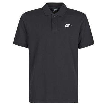 Îmbracaminte Bărbați Tricou Polo mânecă scurtă Nike M NSW CE POLO MATCHUP PQ Negru / Alb