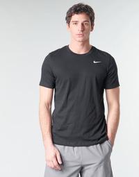 Îmbracaminte Bărbați Tricouri mânecă scurtă Nike M NK DRY TEE DFC CREW SOLID Negru / Alb
