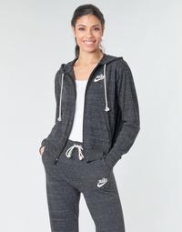 Îmbracaminte Femei Hanorace  Nike W NSW GYM VNTG HOODIE FZ Gri