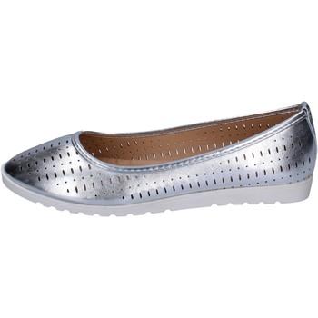 Pantofi Femei Balerin și Balerini cu curea Lancetti BP564 Argint