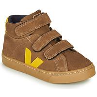 Pantofi Copii Pantofi sport stil gheata Veja SMALL-ESPLAR-MID Maro / Galben