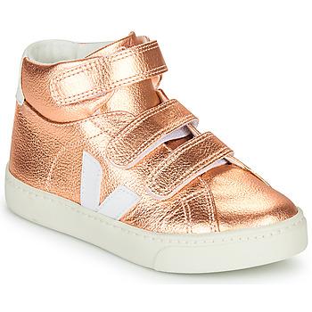 Pantofi Fete Pantofi sport stil gheata Veja SMALL-ESPLAR-MID Roz