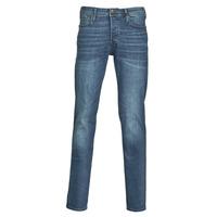 Îmbracaminte Bărbați Jeans slim Jack & Jones JJITIM Albastru / Culoare închisă