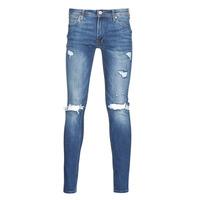 Îmbracaminte Bărbați Jeans slim Jack & Jones JJITOM Albastru / Medium