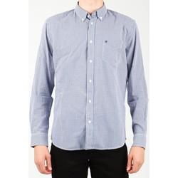 Îmbracaminte Bărbați Cămăsi mânecă lungă Wrangler 1 PKT Shirt W5929M8DF blue, white