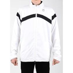Îmbracaminte Bărbați Bluze îmbrăcăminte sport  K-Swiss Accomplish WVN JCKT 100627-102 white, black