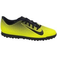Pantofi Copii Fotbal Nike JR Bravatax II TF Negre,Galbene