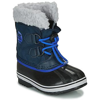 Pantofi Copii Cizme de zapadă Sorel CHILDRENS YOOT PAC NYLON Albastru