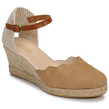 Pantofi Femei Sandale  André BABI Taupe