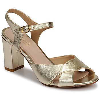 Pantofi Femei Sandale  André JESS Auriu