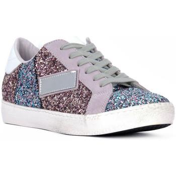 Pantofi Femei Pantofi sport Casual At Go GO GLITTER NEWBIG Bianco