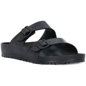 Pantofi Femei Papuci de vară Birkenstock ARIZONA EVA BLACK CALZ N Nero