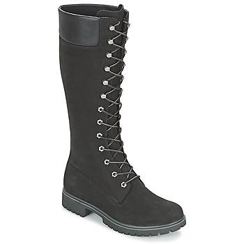 Pantofi Femei Cizme casual Timberland WOMEN'S PREMIUM 14IN WP BOOT Negru / Nubuck