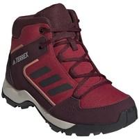 Pantofi Copii Drumetie și trekking adidas Originals Hyperhiker K Roșii, Vișiniu