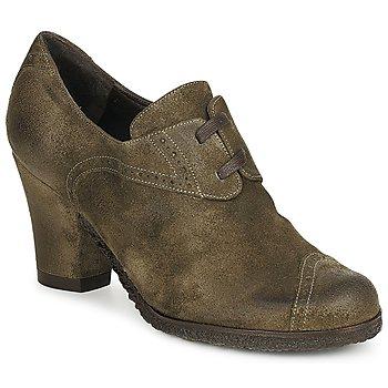 Pantofi Femei Botine Audley RINO LACE Taupe