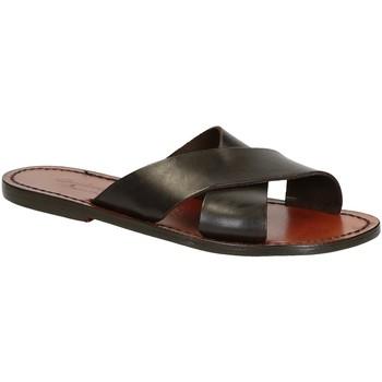 Pantofi Bărbați Sandale  Gianluca - L'artigiano Del Cuoio 560 D MORO CUOIO Testa di Moro