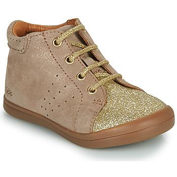 Pantofi Fete Ghete GBB NAHIA Bej / Auriu