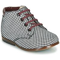 Pantofi Fete Ghete GBB TACOMA Negru / Alb