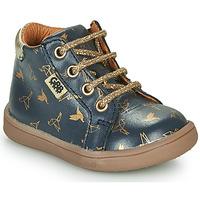 Pantofi Fete Ghete GBB FAMIA Albastru / Auriu