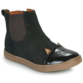 Pantofi Fete Ghete GBB JESSINE Negru