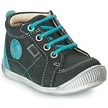 Pantofi Băieți Ghete GBB OLAN Negru / Albastru