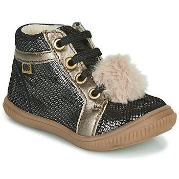 Pantofi Fete Pantofi sport stil gheata GBB ISAURE Negru
