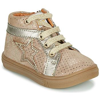 Pantofi Fete Pantofi sport stil gheata GBB NAVETTE Bej