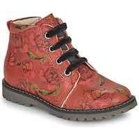 Pantofi Fete Ghete GBB NAREA Roșu